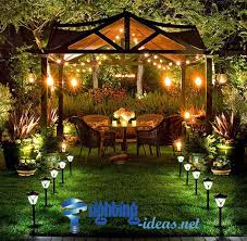 unique outdoor yard lights outdoor garden lighting exclusive touch of charming
