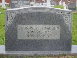 John Wesley Vaughn (1877-1967) - Find A Grave Memorial