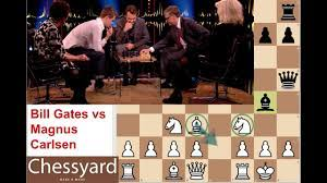 Bill Gates vs Magnus Carlsen: Only time Magnus breaks principle by using  cheap Chess Tactics to Win - YouTube
