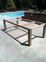 Building My Own Outdoor Wood Farm Table   Craft Ideas   Pinterest    Farming, Woods and Backyard