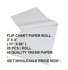 Flip Chart Paper Roll 3 X 4 Malaysia