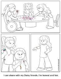 Small Picture Daisy Coloring Page Honest and Fair MakingFriendsMakingFriends