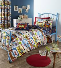 Image of: Superhero Bedding Design