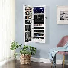 darren wall mounted jewellery armoire