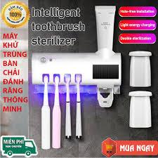 Jujiajia bàn chải đánh răng máy tiệt trùng di động đấm không đa năng tia  cực tím khử trùng bàn chải đánh răng có giá để đồ b9ds - Sắp xếp theo