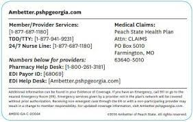 Dental and vision insurance plans are available, but policies can be hard to obtain since ambetter is only offered in a limited number of areas. Https Ambetter Pshpgeorgia Com Content Dam Centene Peachstate Ambetter Pdfs Pro Amb Ga Providermanual Pdf