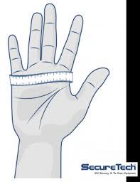Securetech Glove Size Chart