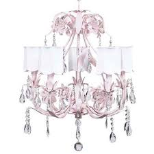 jubilee collection ballroom pink five light chandelier with scallop drum white chandelier shades