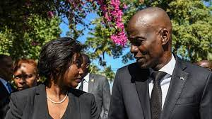 Haiti's First Lady Martine Moise Lands ...