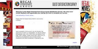 Regal Customer Satisfaction Survey Get 100 Gift Card