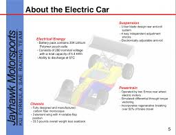 Fsae Chassis Design Report The Specs On The Jayhwaks Electric Formula Sae Car Fsae