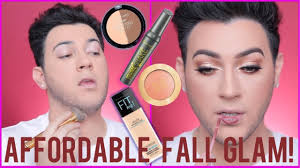 full face fall makeup transformation