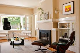 painting a fireplace white20 Painted Brick Fireplaces in the Living Room  Home Design Lover