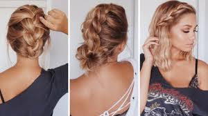 Easy Simple Hairstyles For Shoulder Length Hair