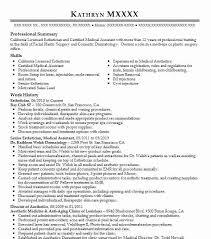 Medical Esthetician Cover Letter Sample Http Www Resumecareer Simple
