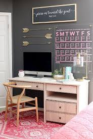 diy office space. DIY Desk With Printer Cabinet Diy Office Space