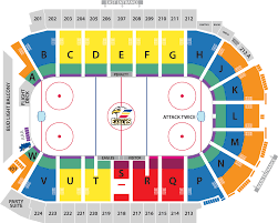 Penguins Seating Chart With Rows 2019