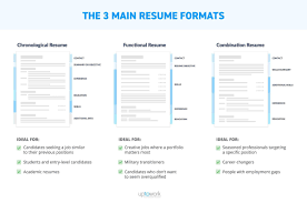 Different Resume Formats Gulijobs Com