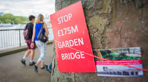 Small Picture London Garden Bridge plans finally fall down