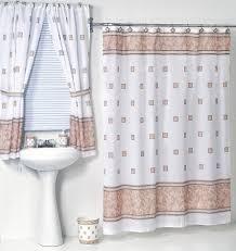bathroom window curtain sets nice bathroom set curtains windsor ivory fabric shower