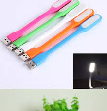 Bộ 5 Đèn LED USB Dẻo Siêu Sáng Cắm Máy Tính Sạc Dự Phòng (Giao Màu Ngẫu  Nhiên)