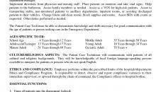 Patient Care Technician Resume Examples | Aliciafinnnoack