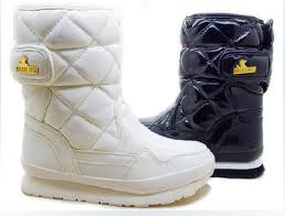 Fashion Rubber Duck Boots Waterproof Snow Boots Women Snow