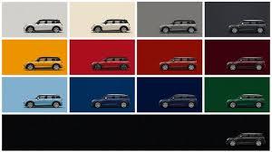 Bmw Mini Colour Chart Mini Clubman