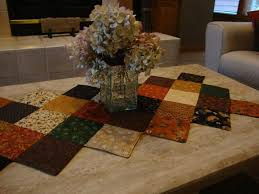 Stitch in the Ditch Quilted Table Runner | Quilt patterns ... & Stitch in the Ditch Quilted Table Runner Adamdwight.com
