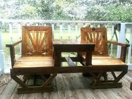 wood patio furniture plans homesingainfo
