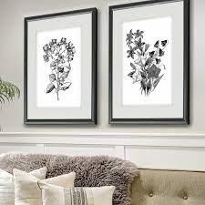 piece framed acrylic painting print