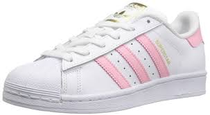 adidas shoes for girls superstar. adidas girls superstar foundation big kids s81019 white pink gold shoes size 6 | ebay for u