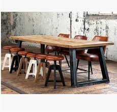 industrial furniture style. French Vintage Industrial Style LOFT Old Pine Table Painted Iron Wood  Dining To Do The Furniture I