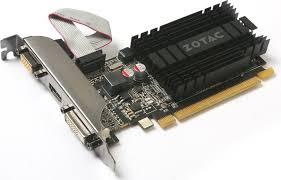 Купить <b>видеокарту ZOTAC</b> GeForce <b>GT 710</b>, 1 ГБ DDR3 — купить ...
