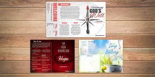 Free Church Bulletin Templates Customize In Microsoft Word