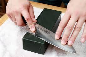 DinoK  Extra Fine Diamond Sharpening Steel  26cm Kitchen Knife How To Sharpen Kitchen Knives