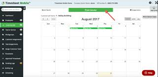 Employee Work Scheduling Time Sheet Mobile