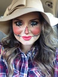 makeup scarecrow makeup cute costume cute scarecrow muah by sunkissed and made up