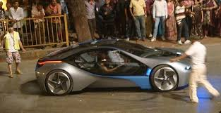 bmw i8 in mission impossible 4. Brilliant Bmw BMW I8 Spotted In Mumbai During Mission Impossible 4 Filming And Bmw I8 In