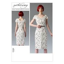 Vogue Dress Patterns Simple Vogue Misses'Misses' Petite Dress Pattern V48 Size A48 Discount