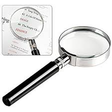 amazon com dr magnum magnifying glass 3x 45x magnifying glass