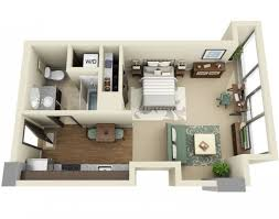 Efficiency Apartment Floor Plans X Together With Recent Idea One Bedroom  Apartments In Orlando Fl