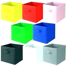 collapsible fabric storage bins canvas cube cubes bin f