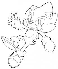 Small Picture Coloring Pages Free Printable Sonic X Coloring Pages Sonic