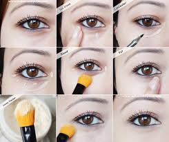 how to conceal undereye circles tutorial