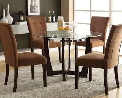 staggering dinette sets image concept dining set w glass round table baldwin by acme furniture ac07815set