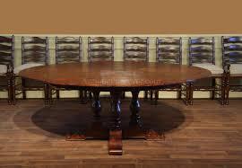 rustic 72 round dining table rustic round dining table with leaf rustic solid wood round dining table extra large round rustic dining table