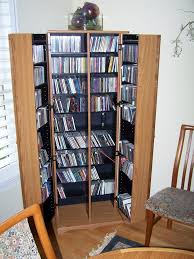 Space Saving Dvd Storage Furniture Creative Dvd Storage Wall Mounted Idea With Ideas Space