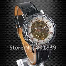 high quality nice watch brands promotion shop for high quality luxury brand new automatic wind up mechanical white dial mens wrist watch nice xmas gift whole price a364