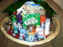 fun crafts male toiletries gift baskets